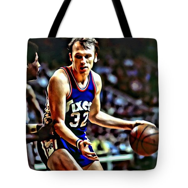 Billy Cunningham Tote Bag by Florian Rodarte