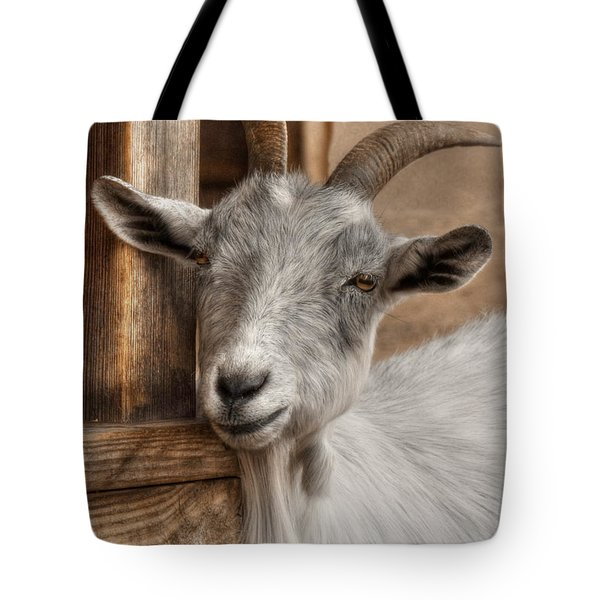 Billy Goat Tote Bag by Lori Deiter