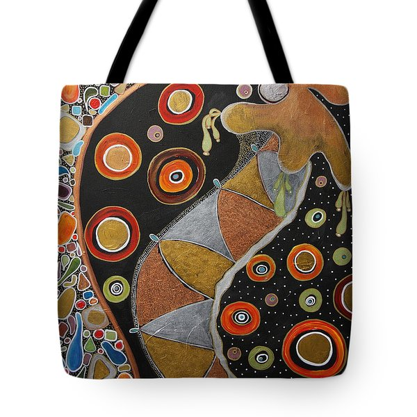 Biological Rhythms.. Tote Bag by Jolanta Anna Karolska