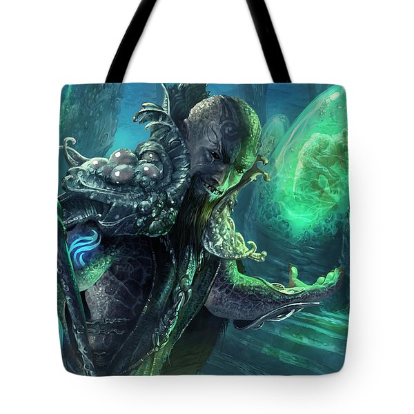 Biovisionary Tote Bag by Ryan Barger