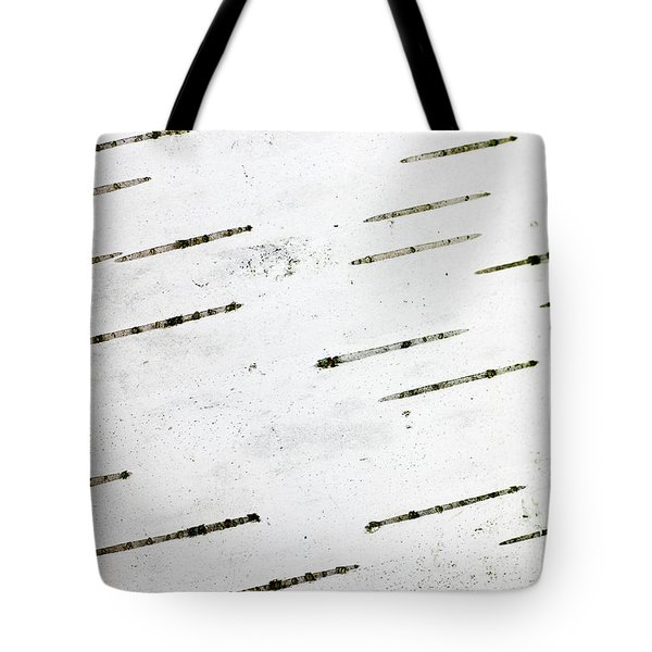 Birch Bark Tote Bag by Steven Ralser