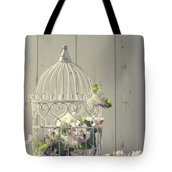 Bird Cage Tote Bag by Amanda And Christopher Elwell