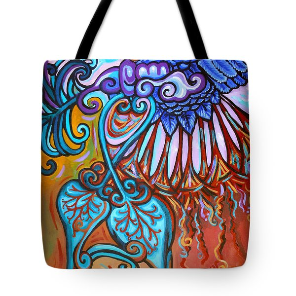 Bird Heart Iv Tote Bag by Genevieve Esson