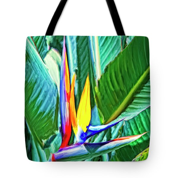 Bird Of Paradise Tote Bag by Dominic Piperata