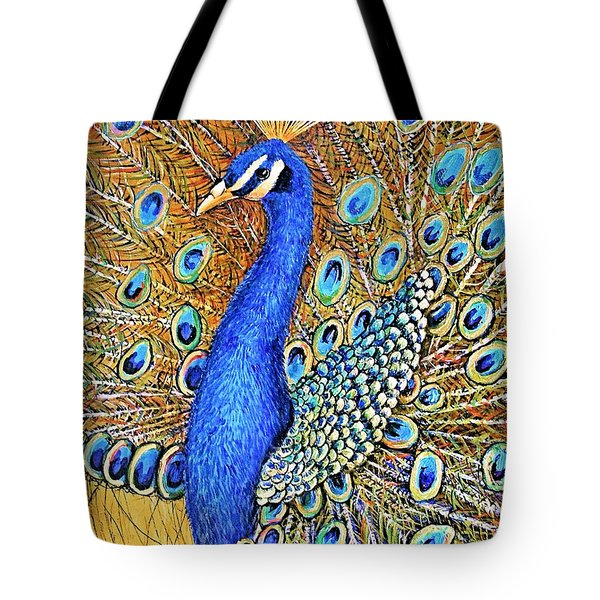 Bird Of Paradise Tote Bag by JAXINE Cummins