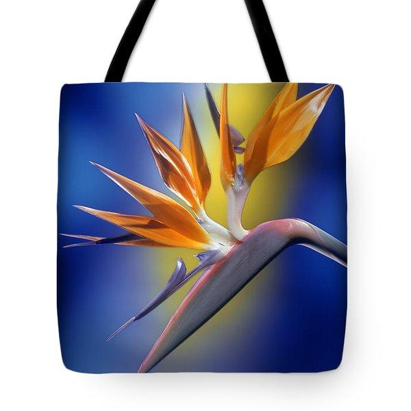 Bird Of Paradise Tote Bag by Kirk Ellison