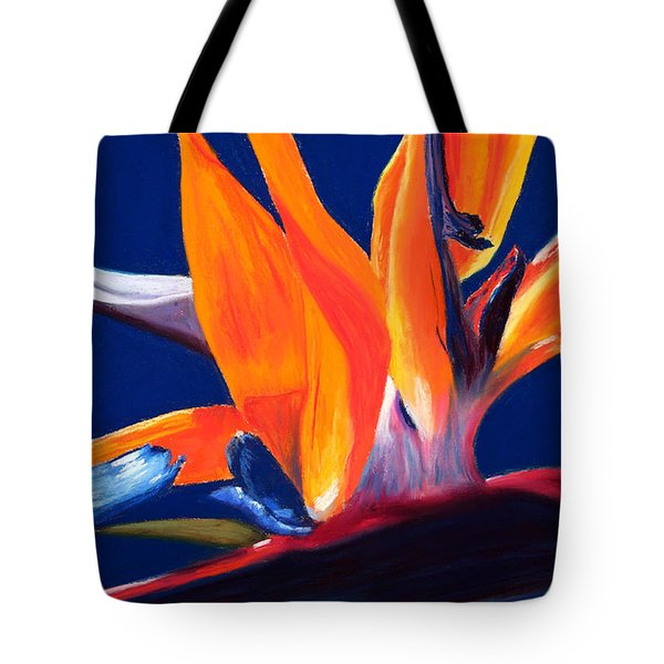 Bird of Paradise Tote Bag by Mary Benke
