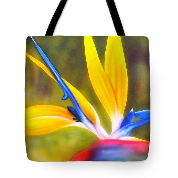 Bird Of Paradise Revisited Tote Bag by Darren Robinson