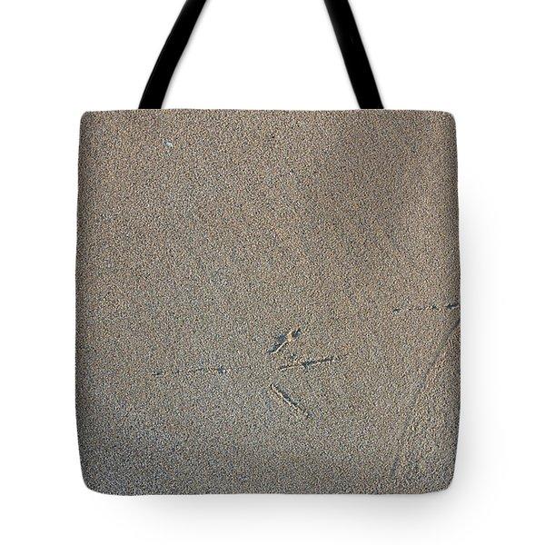 Bird Tracks Tote Bag by Steven Ralser