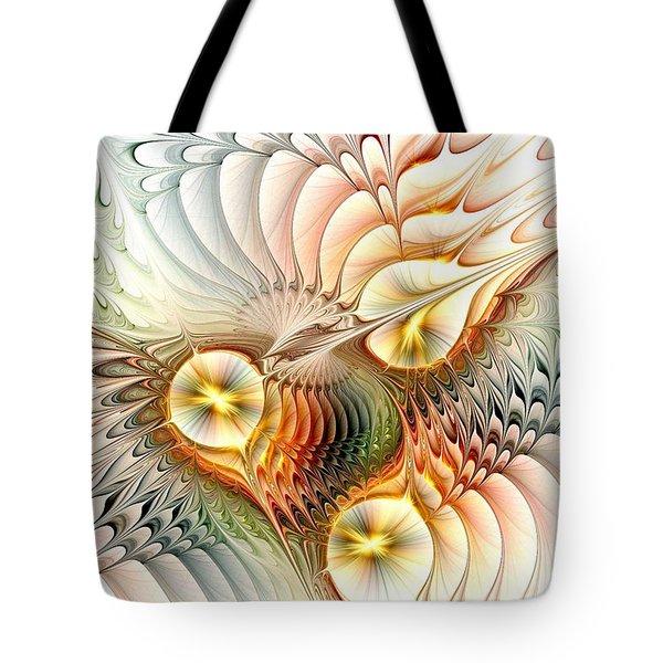 Birds Tote Bag by Anastasiya Malakhova