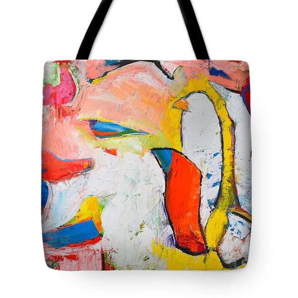 Birds In Paradise Tote Bag by Ana Maria Edulescu