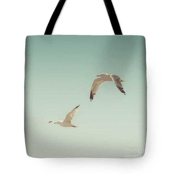 Birds Of A Feather Tote Bag by Lucid Mood