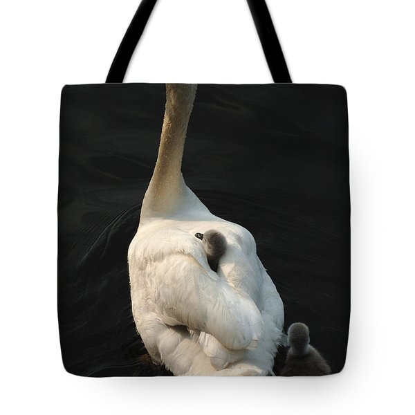 Birds Of A Feather Stick Together Tote Bag by Bob Christopher