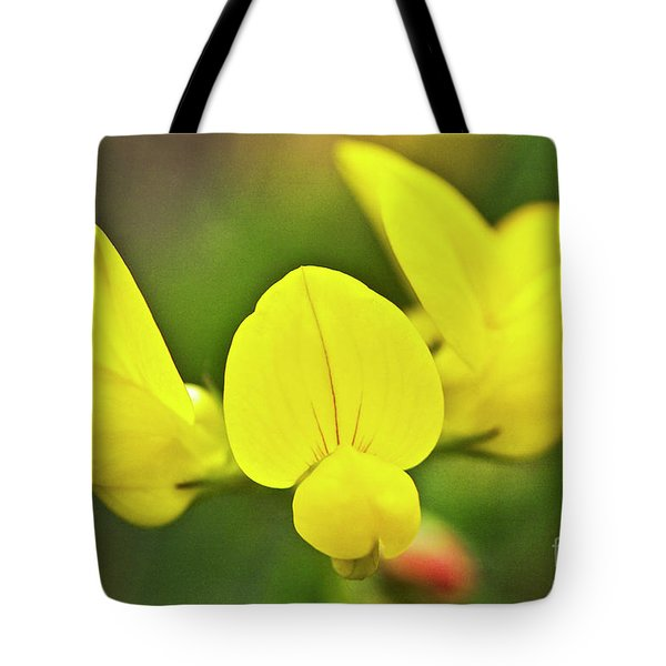 Birdsfoot trefoil in the meadows Tote Bag by Heiko Koehrer-Wagner