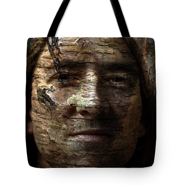Birtch Green Man Tote Bag by Christopher Gaston