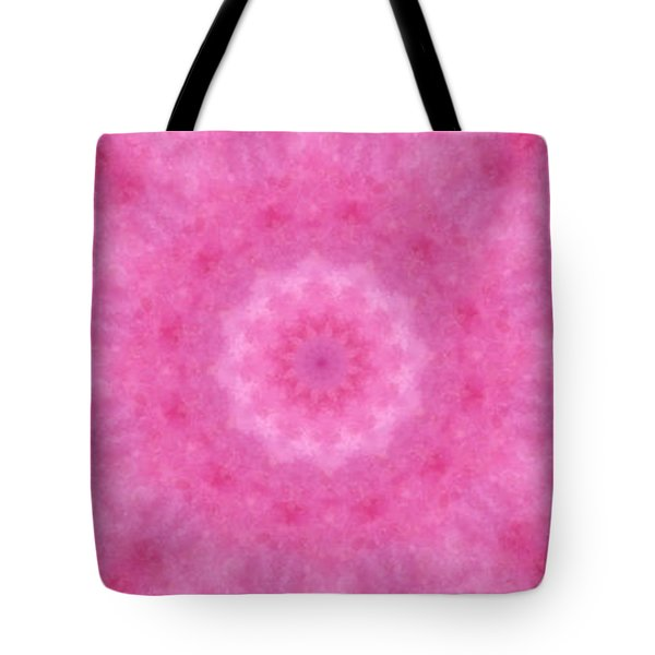 Birthing Mandala 20 Tote Bag by Rhonda Barrett