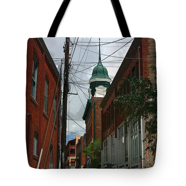 Bisbee Arizona Tote Bag by Joe Kozlowski