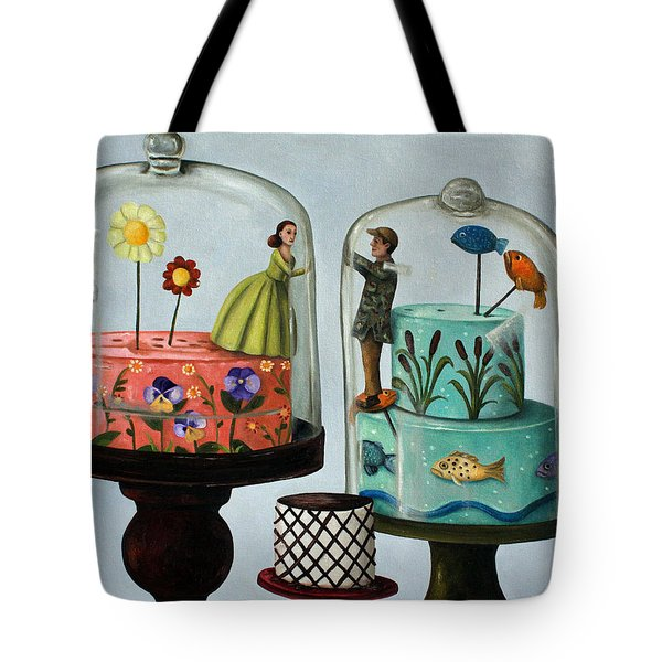 Bittersweet Tote Bag by Leah Saulnier The Painting Maniac