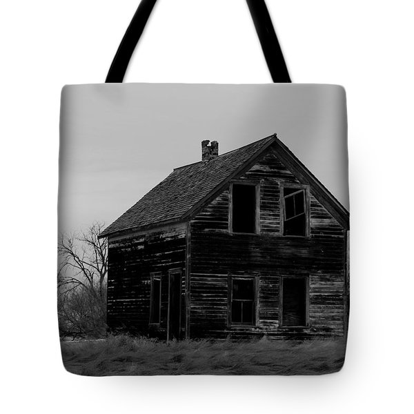 Black And White Forlorned Tote Bag by Jeff Swan