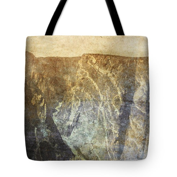 Black Canyon Tote Bag by Brett Pfister