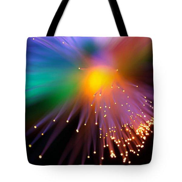 Black Hole Sun Tote Bag by Dazzle Zazz