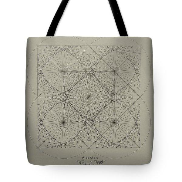Blackhole Tote Bag by Jason Padgett