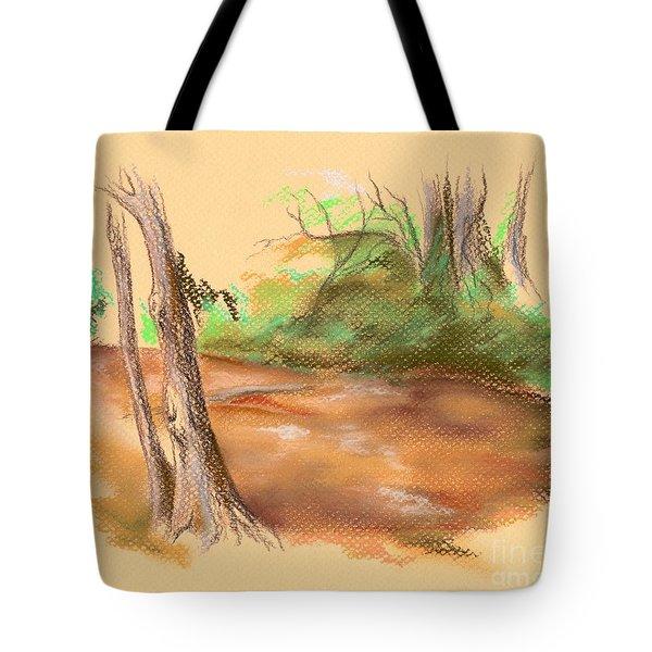 Blackwater Creek Tote Bag by MM Anderson