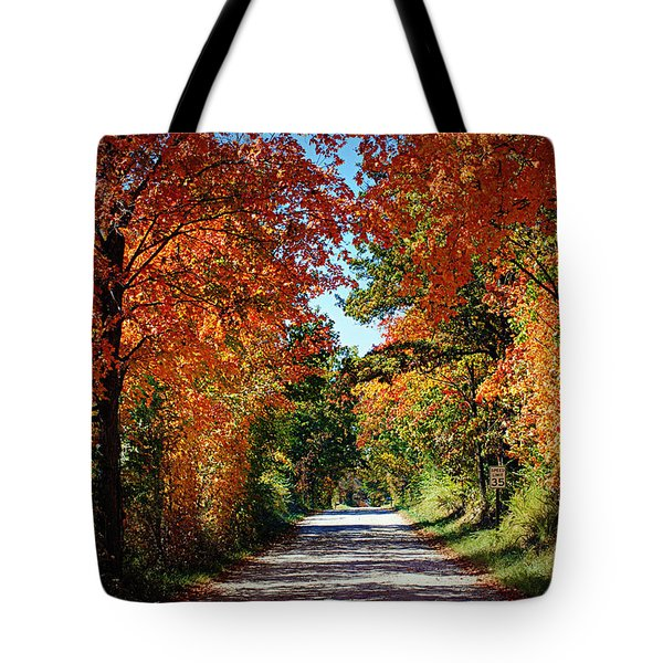 Blaze of Glory Tote Bag by Cricket Hackmann