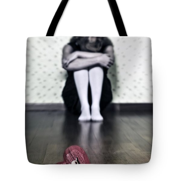 bleeding heart Tote Bag by Joana Kruse