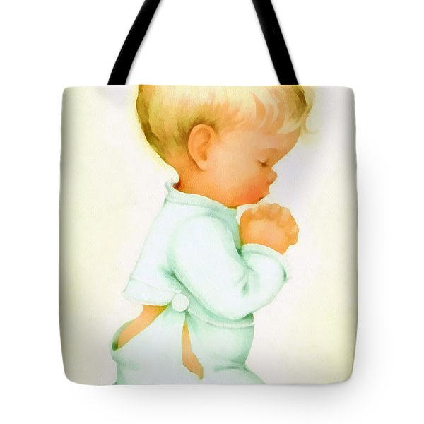 Bless Us All Tote Bag by Charlotte Byj