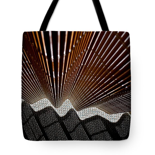 Blind Shadows Abstract I I I Tote Bag by Kirsten Giving