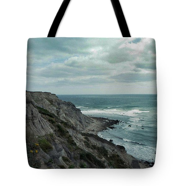 Block Island South East Lighthouse Tote Bag by Skip Willits