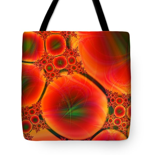 Blood Type Tote Bag by Anastasiya Malakhova