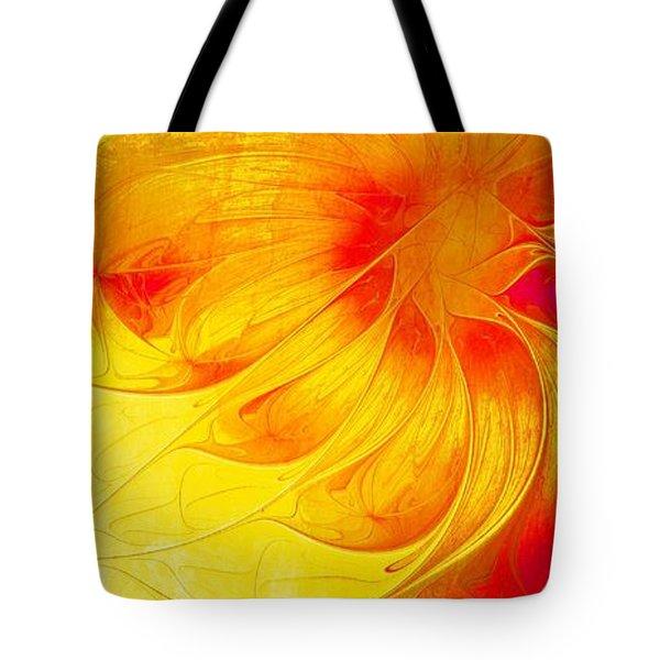 Blooming Spring Tote Bag by Amanda Moore