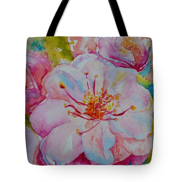 Blossom Tote Bag by Beverley Harper Tinsley