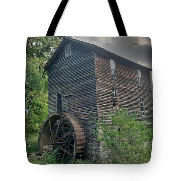 Blowing Cave Mill Tote Bag by Janice Spivey
