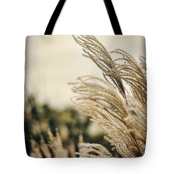 Blowing In The Wind Tote Bag by Heather Applegate