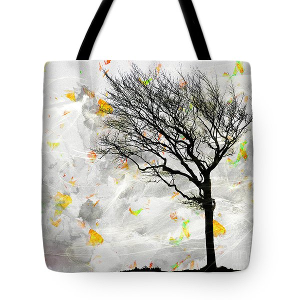 Blowing It The Wind Tote Bag by Edmund Nagele