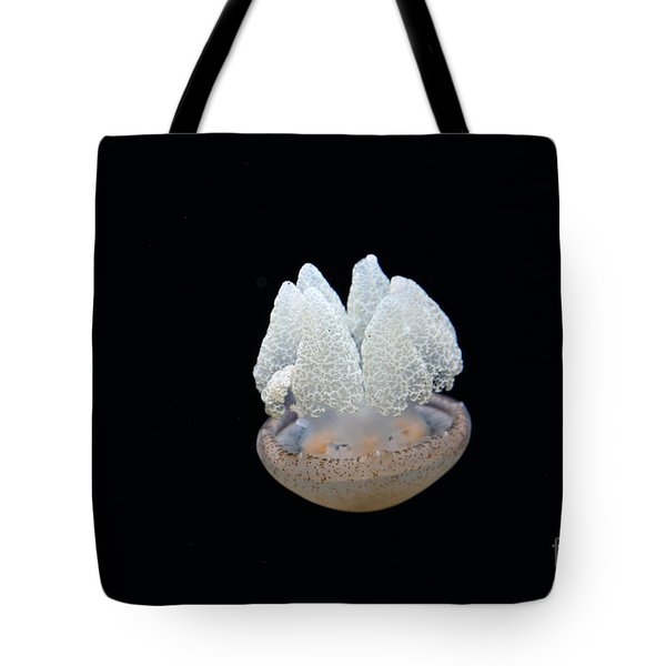 Blubber Jelly Fish 5D24960 Tote Bag by Wingsdomain Art and Photography