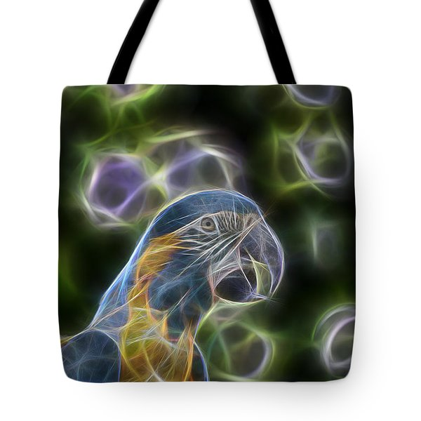 Blue And Gold Macaw  Tote Bag by Douglas Barnard
