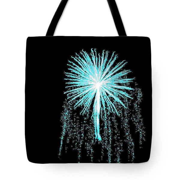 Blue Angel Tote Bag by Katie Beougher