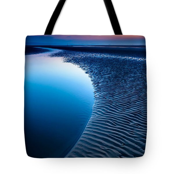 Blue Beach  Tote Bag by Adrian Evans