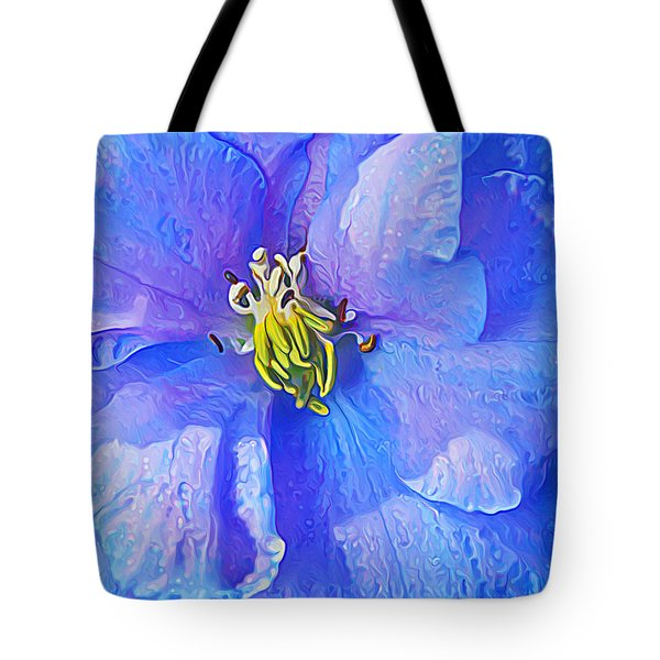 Blue Beauty Tote Bag by Bill Caldwell -        ABeautifulSky Photography