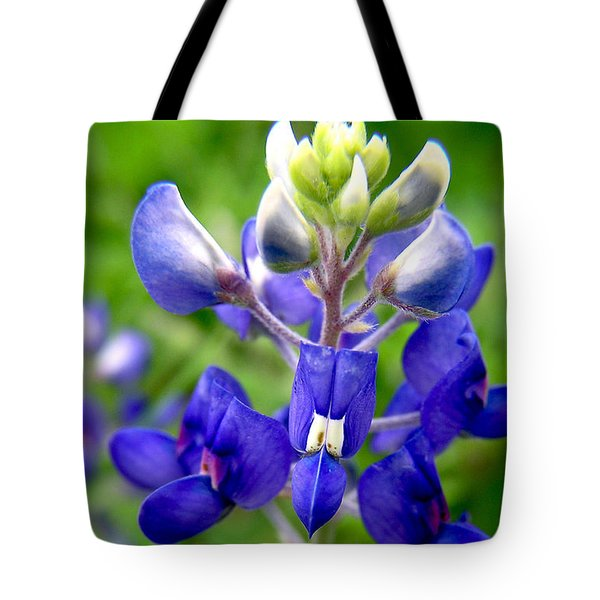 Blue Bonnet Tote Bag by Adam Johnson