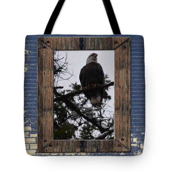 Blue Brick Tote Bag by Greg Patzer