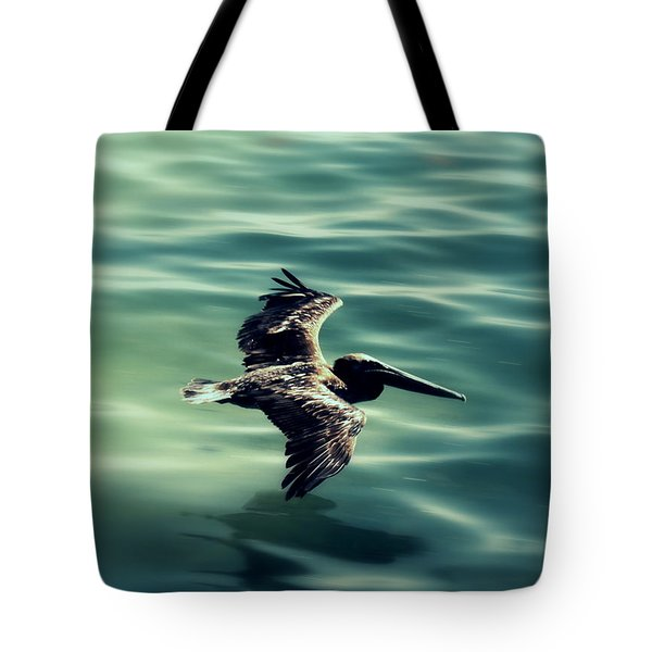 Blue Canvas Tote Bag by Ed Smith