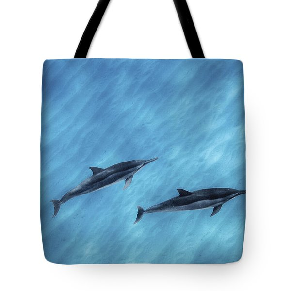 Blue Chill Tote Bag by Sean Davey