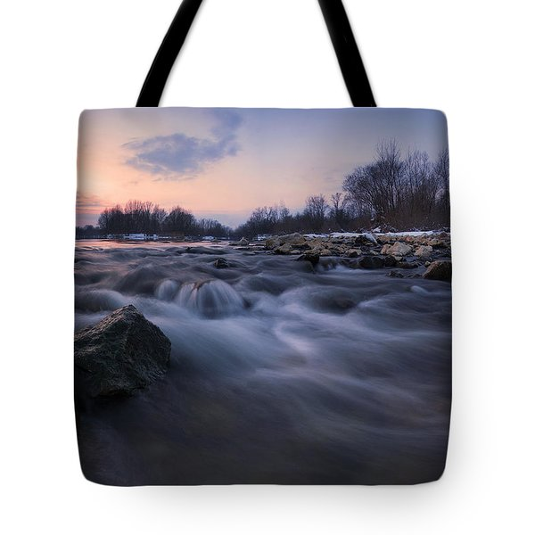 Blue Dream Tote Bag by Davorin Mance