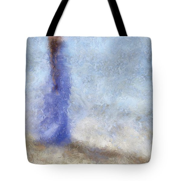 Blue Dream. Impressionism Tote Bag by Jenny Rainbow