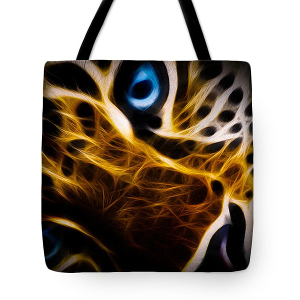 Blue Eye Tote Bag by Aged Pixel